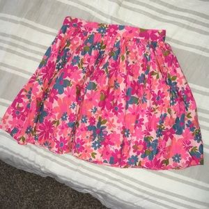 NO LONGER AV Floral skirt